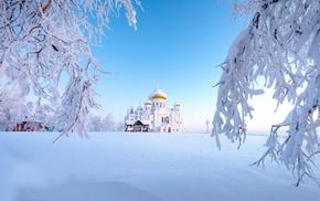 Russia, winter, snow, Ural
