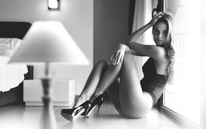 legs, ass, Giovanni Zacche, hair, high heels, girl