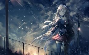 snow, anime girls, anime, Vocaloid, IA Vocaloid