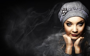 face, smirk, girl, portrait, model, Natalie Dormer