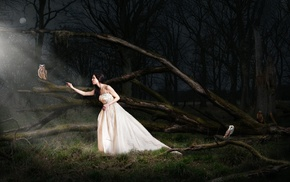 girl, fantasy art, girl outdoors, model