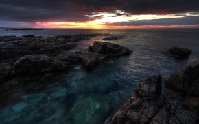 coast, donegal, Ireland, sea