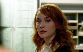 redhead, actress, Christina Hendricks, girl