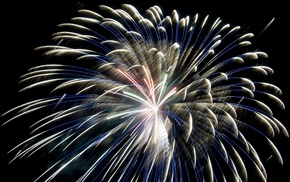 photography, fireworks, night