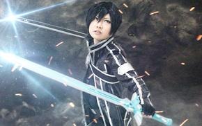 mist, cosplay, Sword Art Online, Kirigaya Kazuto