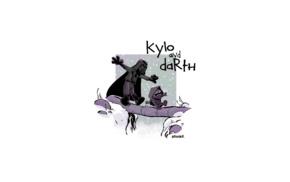 Darth Vader, Kylo Ren, Star Wars, Calvin and Hobbes, Brian Kesinger