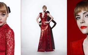 celebrity, girl, dress, collage, actress, Christina Ricci