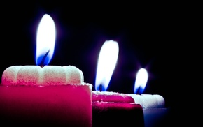 macro, photography, candles, lights