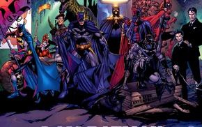 DC Comics, Batgirl, Batwoman, Harley Quinn, comics, hero