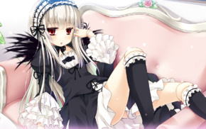 Suigetsu, lolita fashion, anime, anime girls, Rozen Maiden