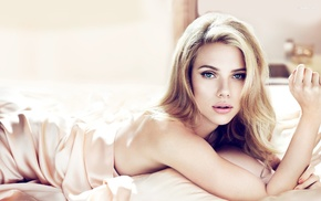 girl, Scarlett Johansson, actress, blonde