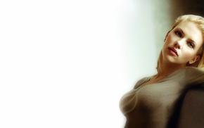 actress, Scarlett Johansson, blonde, model, girl