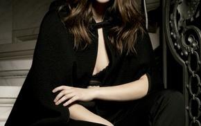 Barbara Palvin, spotlights, brunette, celebrity, portrait display, model
