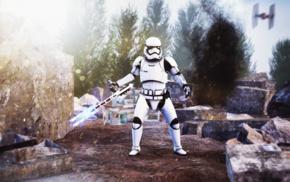 TIE Fighter, Star Wars The Force Awakens, Star Wars, TR, 8R