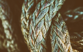 photography, ropes, closeup, texture, knot