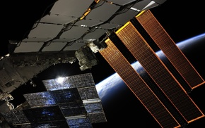 Roscosmos State Corporation, NASA, space, ISS, Earth, International Space Station