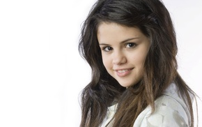 celebrity, girl, smiling, brunette, Selena Gomez, singer