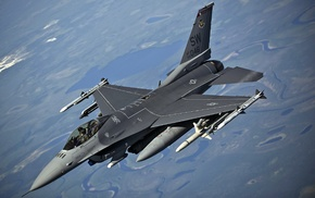 US Air Force, aircraft, General Dynamics F, 16 Fighting Falcon, military aircraft