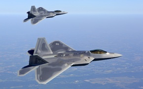 F, 22 Raptor, military aircraft, US Air Force, aircraft