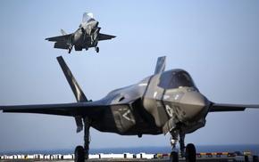 Lockheed Martin F, 35 Lightning II, military aircraft, jet fighter, aircraft