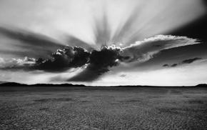 monochrome, photography, landscape, desert