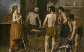 Greek mythology, Vulcan Roman God, classic art, painting
