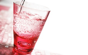 red, photography, macro, water, glass
