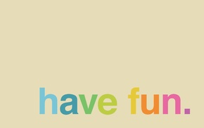 text, colorful, minimalism, typography