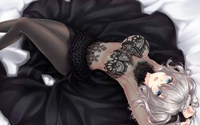 Kantai Collection, Kashima KanColle, anime girls, cleavage, anime