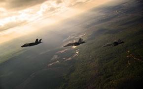 McDonnell Douglas FA, 18 Hornet, jet fighter, Lockheed Martin F, 35 Lightning II, aircraft
