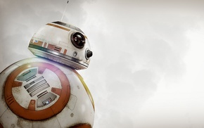 Star Wars The Force Awakens, robot, science fiction, BB, 8