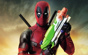 Marvel Comics, movies, super squirter, Deadpool