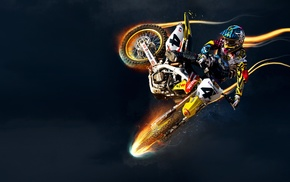 Suzuki, vehicle, motocross, sports
