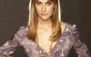 British, Katherine Kelly, girl, dress, blonde, gray eyes