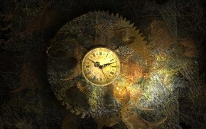 watch, gears, time, vintage, clocks, clockworks