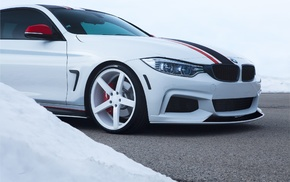 BMW, Vossen, BMW M4 Coupe, M4, car, Stance