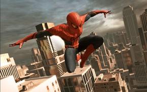 Amazing Spider, Man, Marvel Comics, city, video games, Manhattan