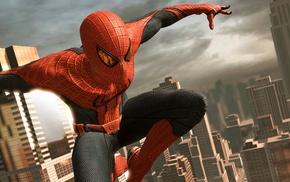 video games, dual monitors, multiple display, Manhattan, New York City, Marvel Comics