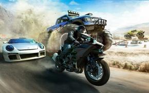 The Crew Wild Run, Ford Raptor, artwork, Kawasaki Ninja H2R, video games