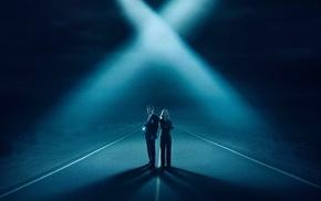 TV, The X, Files, Dana Scully, Fox Mulder