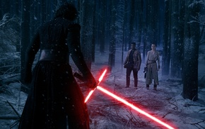 Rey from Star Wars, Star Wars The Force Awakens, Kylo Ren