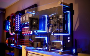 PC gaming, PC cases, technology, hardware, computer, Corsair