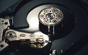 technology, Hard drives, hardware, closeup, computer