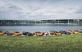 McLaren Formula 1, car, black cars, race cars, McLaren F1 GTR, McLaren MP4