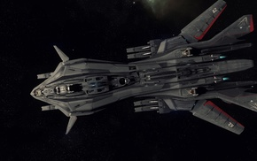 spaceship, Aegis Dynamics, Robert Space Industries, Star Citizen, space, Retaliator