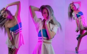 model, collage, girl, Katrina Wilkinson