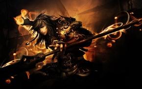 fantasy art, warrior, artwork