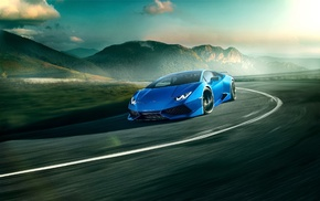 car, vehicle, Lamborghini Huracan