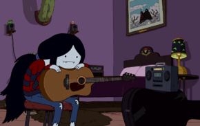 Cartoon Network, Marceline the vampire queen, Adventure Time