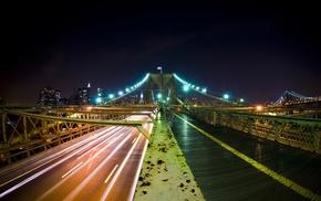 Brooklyn Bridge, bridge, New York City